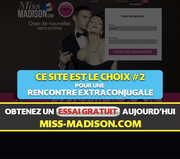 Capture d'écran du site Miss-Madison